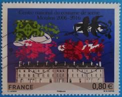 France 2016 : 10e Anniversaire Du Centre National Du Costume De Scène De Moulins N° 5042 Oblitéré - France
