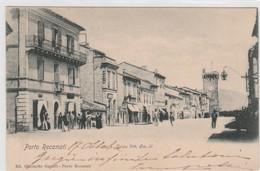 Cartolina - Porto Recanati - Corso Vittorio Emanuele II - Macerata