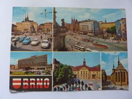 """Cartolina Viaggiata """"BRNO"""" 1974 - Repubblica Ceca"""