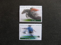 O.N.U.  C.I. De Vienne : TB Paire N° 452 Et N°453, Neufs XX. - Wien - Internationales Zentrum