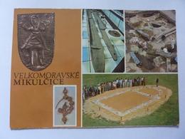 "Cartolina Viaggiata ""VELKOMORAVSKE MIKULCICE"" 1973 - Repubblica Ceca"