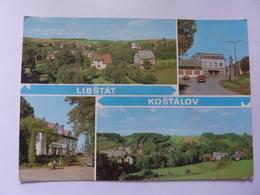 "Cartolina Viaggiata ""LIBSTAT  KOSTALOV"" 1982 - Repubblica Ceca"