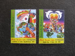 O.N.U.  C.I. De Vienne : TB Paire N° 462 Et N°463, Neufs XX. - Wien - Internationales Zentrum