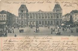 CPA - Belgique - Bruxelles - La Gare Du Nord - Spoorwegen, Stations