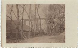 CHINE - CHINA -  Un Pont De Chemin De Fer Dans La Région De CHENGCHOW - Cachet De La Poste 1924 - Chine