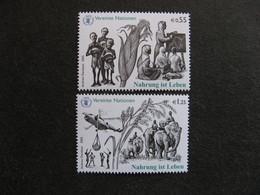 O.N.U.  C.I. De Vienne : TB Paire N° 464 Et N°465, Neufs XX. - Wien - Internationales Zentrum