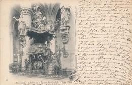 CPA - Belgique - Bruxelles - Chaire De L'Eglise Ste-Gudule - Monumenten, Gebouwen