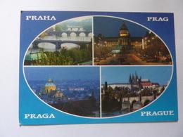 "Cartolina Viaggiata ""PRAHA"" 2000 - Repubblica Ceca"