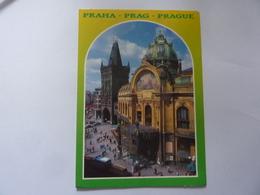 "Cartolina Viaggiata ""PRAHA"" 2001 - Repubblica Ceca"