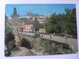 "Cartolina Viaggiata ""PRAHA"" 1991 - Repubblica Ceca"