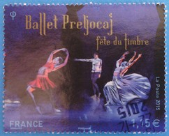 """France 2015 : Fête Du Timbre. Ballet """"Les Nuits"""" D'Angelin Preljocaj N° 4983 Oblitéré - France"""