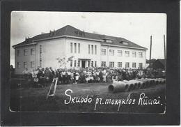CPA Lituanie Lituania Non Circulé Carte Photo RPPC RUMAI - Lithuania