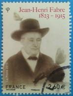 France 2015 : Jean-Henri Fabre, Entomologiste Français N° 4980 Oblitéré - France