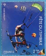 France 2013 : Fête Du Timbre, Le Timbre Fête L'air N° 4810 Oblitéré - France