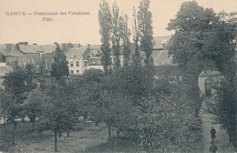 CPA - Belgique - Namur - Pensionnat Des Ursulines - Parc - Namur