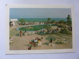 "Cartolina Viaggiata ""Hotel Sidi Slim  DJERBA"" 1990 - Tunisia"