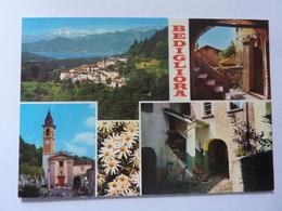 """Cartolina Viaggiata """"BEDIGLIORA"""" 1991 - TI Tessin"""