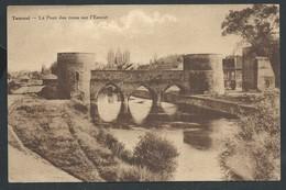 +++ CPA - TOURNAI - Le Pont Des Trous Sur L'Escaut   // - Doornik