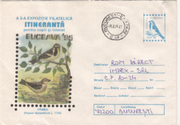 76797- HOUSE SPARROW, BIRDS, COVER STATIONERY, 1995, ROMANIA - Moineaux