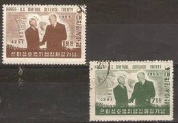 SOUTH KOREA - 1954 USA Defence Pact Used - Korea, South