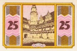 Billet Allemand - 25 Pfennig - Oels In Schlesien - Stadtwappen, Château - [11] Emissions Locales