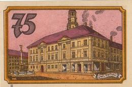 Billet Allemand - 75 Pfennig - Oels In Schlesien - Hôtel De Ville - [11] Emissions Locales