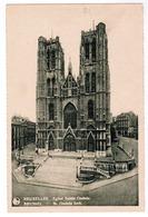 Brussel, Bruxelles, St Gudula Kerk (pl55303) - Monumenten, Gebouwen