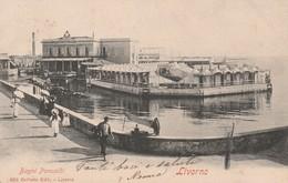 Cartolina - Livorno - Bagni Pancaldi - Livorno