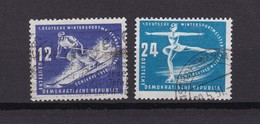 DDR - 1950 - Michel Nr. 246/247 - Gest. - 22 Euro - DDR