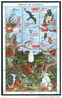 LIBERIA 1993 ''' Feuillet Oiseaux Superbe ''' Mnh*** - Oiseaux