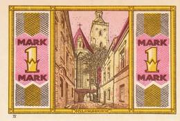 Billet Allemand - 1 Mark - Oels In Schlesien - L'eglise - [11] Emissions Locales