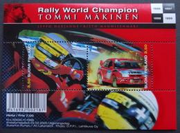 Finland 2000  TOMMI MAKINEN WORLD RALLY CHAMPION   MiNr.1518-19 BLOCK 23 MNH (**) ( Lot   2012 ) - Unused Stamps