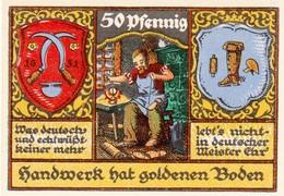 Billet Allemand - 50 Pfennig - Stolzenau An Der Weser 1921 - Cordonnier - [11] Emissions Locales