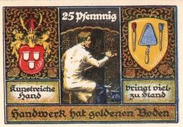 Billet Allemand - 25 Pfennig - Stolzenau An Der Weser 1921 - Peintre - [11] Emissions Locales