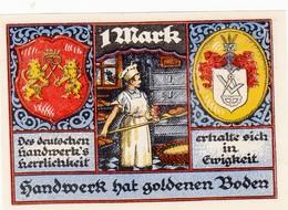 Billet Allemand - 1 Mark - Stolzenau An Der Weser 1921 - Boulanger - [11] Emissions Locales