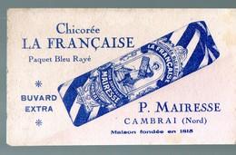Cambrai (59 Nord) Buvard CHICOREE LA FRANCAISE  (PPP17442) - Vloeipapier