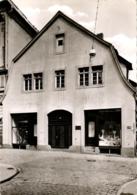 Detmold, Geburtshaus Von Ch. D. Grobbe, Geschäft Fahrräder Und Bekleidung, Ca. 60er Jahre - Detmold