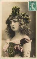 - Spectacle - Theatre - Artistes -ref C824 - Femmes - Femme - Artiste -papillon  - Photo Reutlinger  - - Artistes