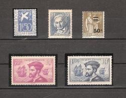 Timbres France Neufs** - Année 1934 Complète - France