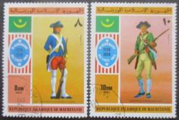 MAURITANIE N°346 Et 347 Oblitérés - Mauritanie (1960-...)
