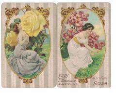 CALENDARIETTO BERTELLI  ALMANACCO 1918  SEMESTRINO - Calendari