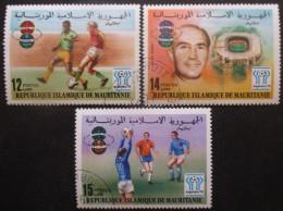 MAURITANIE Série N°379 Au 381 Oblitéré - Mauritanie (1960-...)