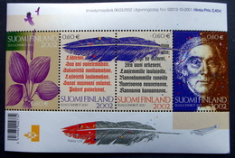 Finland 2001   MiNr.1610-13  BLOCK 28   MNH (**) ( Lot   2012 ) - Unused Stamps