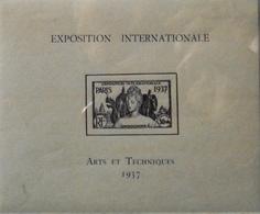 France (ex-colonies & Protectorats) > Indochine Bloc N° 1 Y & T Neufs** TTB - Ongebruikt