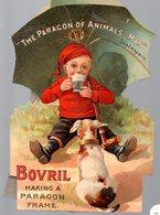 Publicité PLV Carton THE PARAGON OF ANIMAL MAN ..BOVRIL (pub Anglaise En Découpe )( PPP17444) - Advertising
