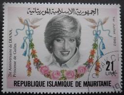MAURITANIE N°507 Oblitéré - Mauritanie (1960-...)