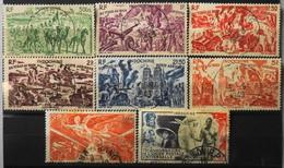 France (ex-colonies & Protectorats) > Indochine 1946-49 Poste Aérienne N° 39 à 45 Et Le 48 Y & T Oblitérés - Luchtpost