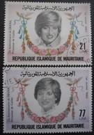 MAURITANIE N°507 Et 508 Oblitérés - Mauritanie (1960-...)
