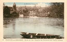 13497466 Beaulieu-sur-Dordogne Bords De L'eau Chapelle Des Pénitents Et Vieilles - France