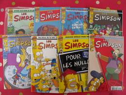 Lot De 6 Magazines BD Les Simpsons + Cadeaux. Comix Bongo Group - Autre Magazines
